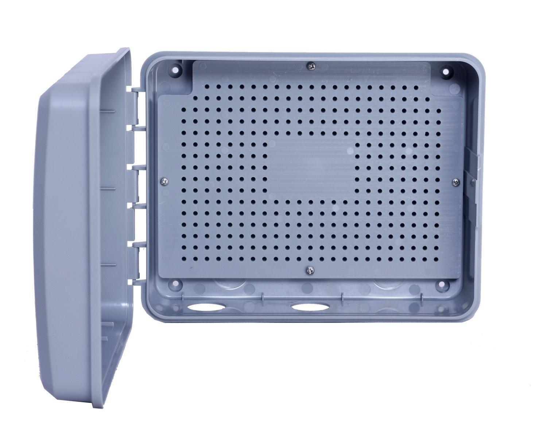 Smart Irrigation Sprinkler Controller NxEco HWN12-200 12 Zone NX12 Smart Sprinkler Timer with EPA Water Sense Weather Aware Remote Access