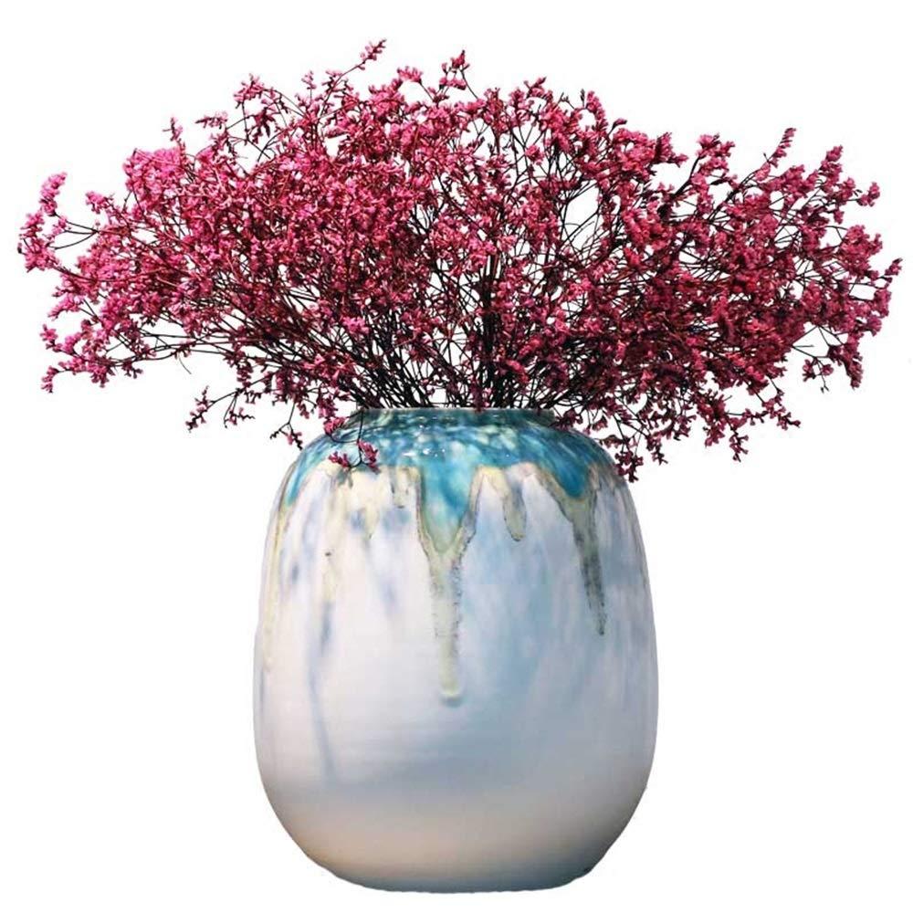 高品質セラミック花瓶用花グリーン植物結婚式の植木鉢装飾ホームオフィスデスク花瓶花バスケットフロア花瓶 B07QLC2ZVX
