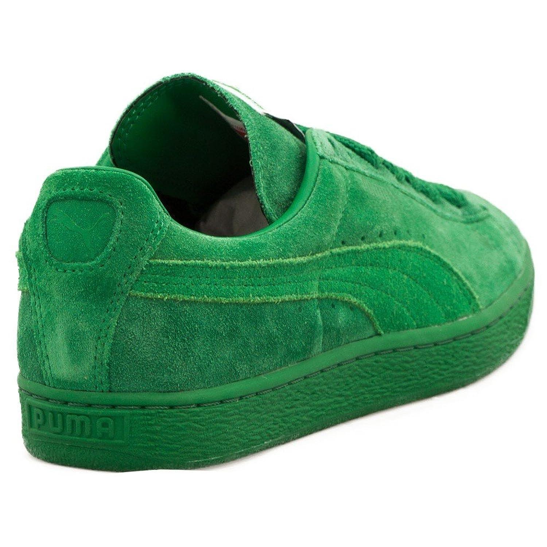 puma suede toute verte