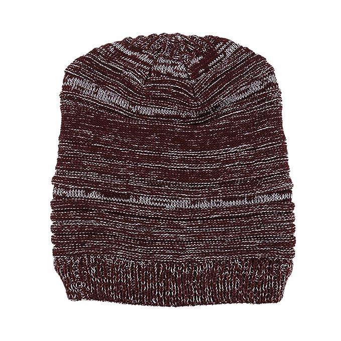 Vrtur Damen Strick Mütze Mode Beiläufig Behalten Warm Winter Häkeln