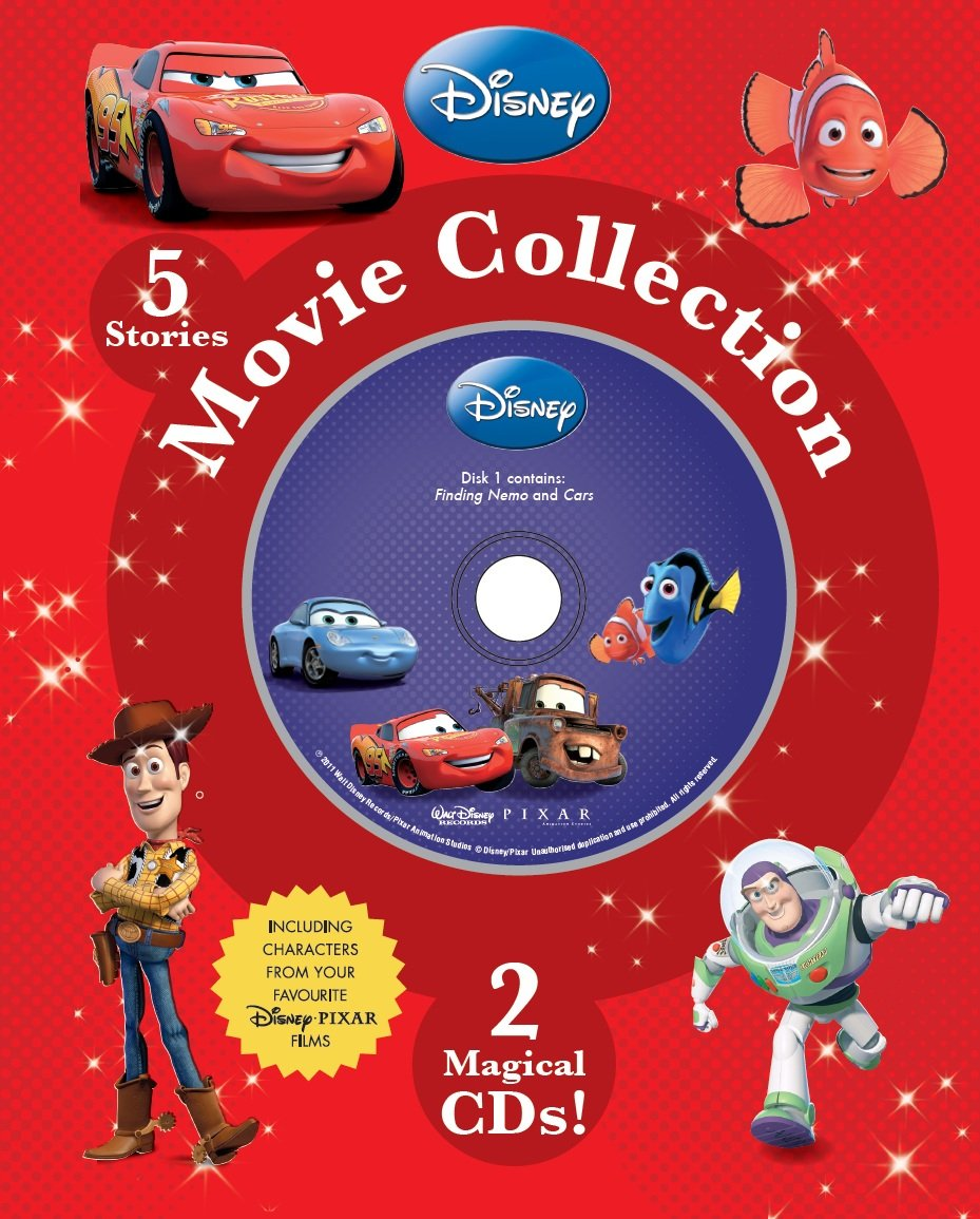 a2149b850a3 Disney Movie Collection for Boys Book   CD Slipcase Hardcover – 7 Jan 2011