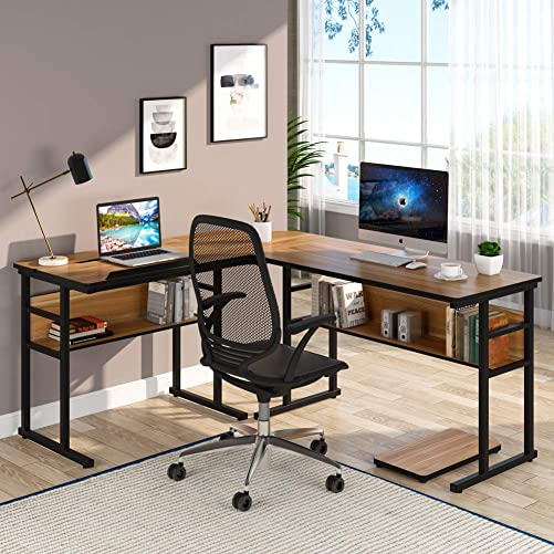 Tribesigns 67 inch L-Shaped Desk