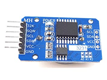 Real Time Clock DS3231SN for Arduino with 32kB EEPROM - I2C Interface -  Battery Backup