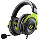 EKSA Gaming Headset for Xbox - PC Headset Wired Gaming Headphones with Noise Canceling Mic, Over Ear Headphones Compatible wi