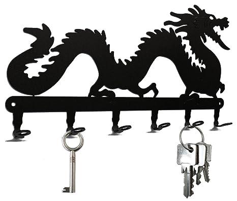 Amazon.com: Chino Luck Dragon – Llavero de pared, ganchos ...