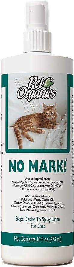 Pet Organics No Mark Spray For Cats
