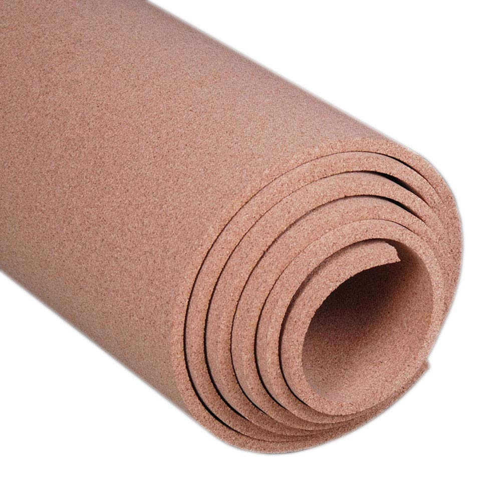 Manton Cork Roll, 100% Natural, 4' x 6' x 1/2'' - Thickest Available by Manton Cork