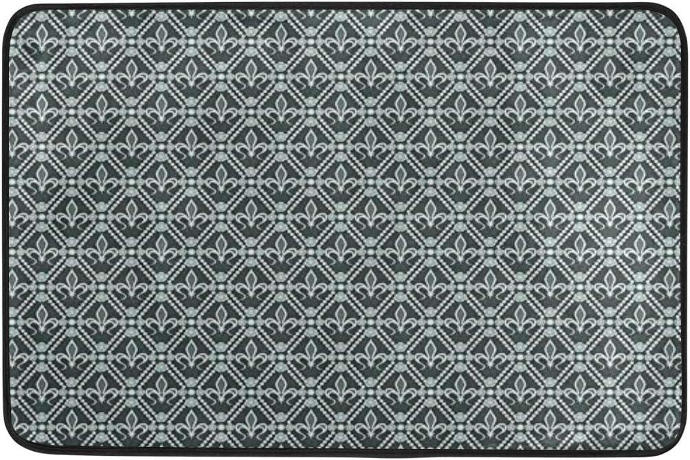"Fluer De Lis Anti Fatigue Floor Mat 30/"" x 20/"""