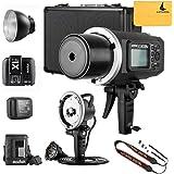 GODOX AD600BM AD sync 1/8000s 2.4G wireless Flash Light Speedlite,GODOX X1T-C,AD-H600B Head,PB-600 Bag,CB-09 Suitcase Carry Bag,LETWING Camera Neck Strap