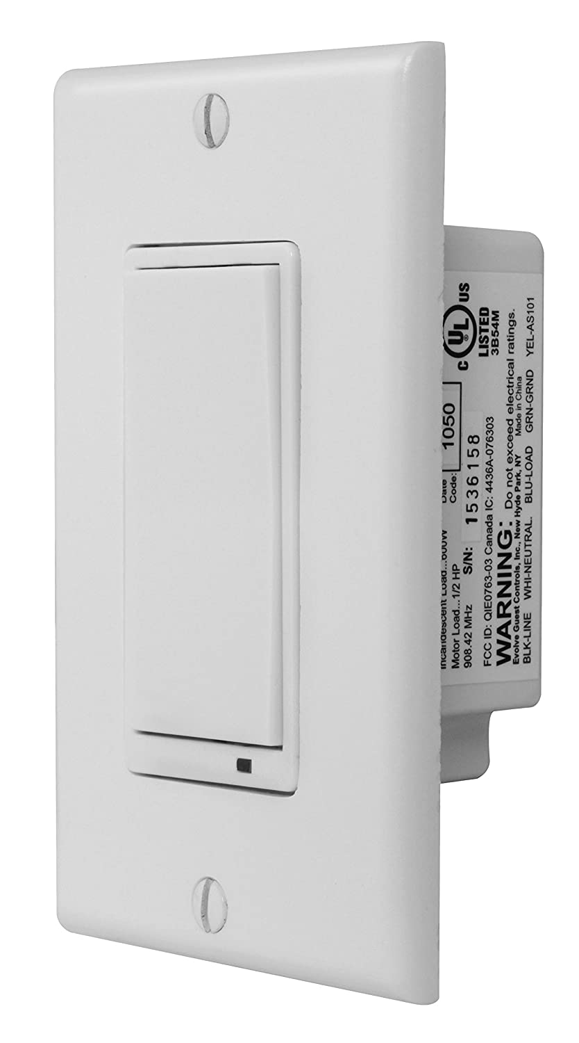 Linear Gocontrol Ws15z 1 Zwave Wall Mount Switch White Small Switches Save Lives Says Alliance Electrical Outlet