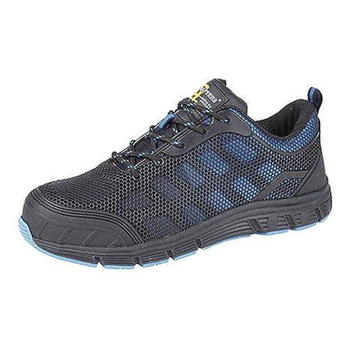 Grafters - Zapatillas de trabajo/Seguridad laboral ultraligeras con puntera protegida para hombre: Amazon.es: Zapatos y complementos