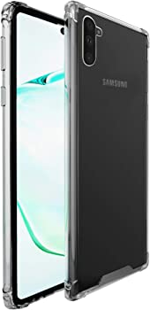 amCase Samsung Galaxy Note 10 Clear Case
