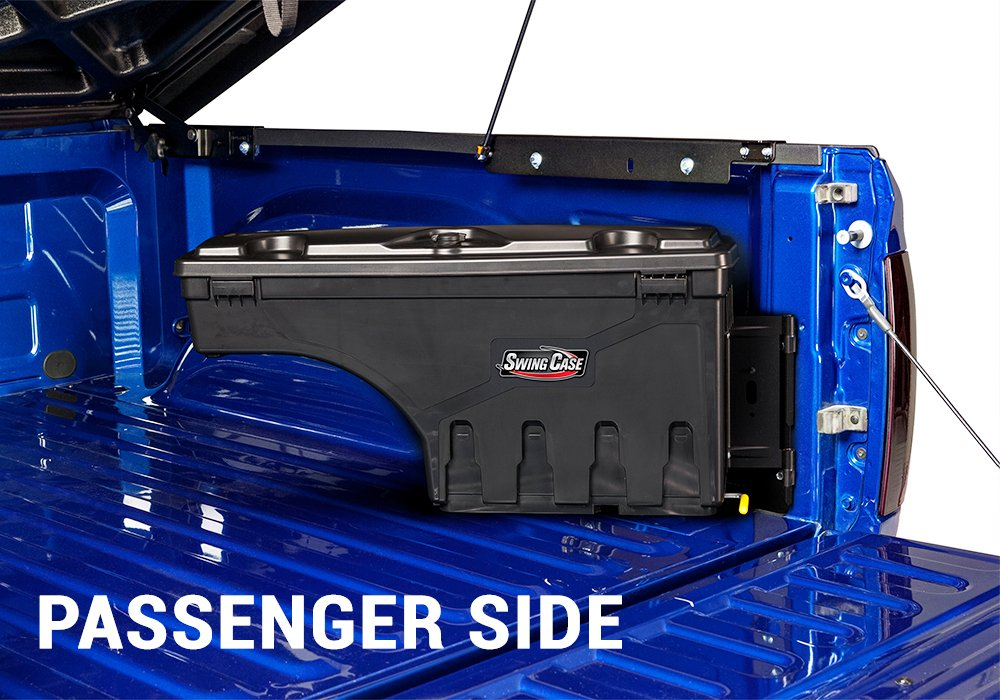 fits 2015-2019 Chevrolet Colorado//GMC Canyon Drivers Side UnderCover SwingCase Truck Storage Box SC103D