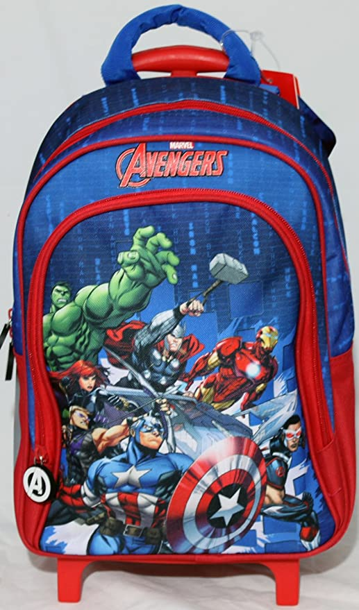 380eb19dbb Zainetto Trolley Scuola DISNEY MARVEL AVENGERS: Amazon.it: Giochi e ...