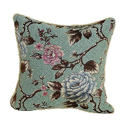 Amazon.com: MeMoreCool Funda de cojín de lujo para sofá ...