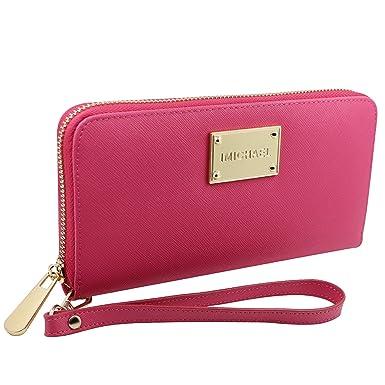 new product 14fff 7847e iphone 6 Plus Wallet Case,Imichael Premium Genuine Leather Clutch Wallet  Wristlet Purse Multiple Card Slots Cash Compartment Pocket With Zipper For  ...