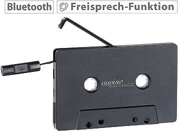 Auvisio Adapterkassette Kassetten Musik Adapter Mit Elektronik