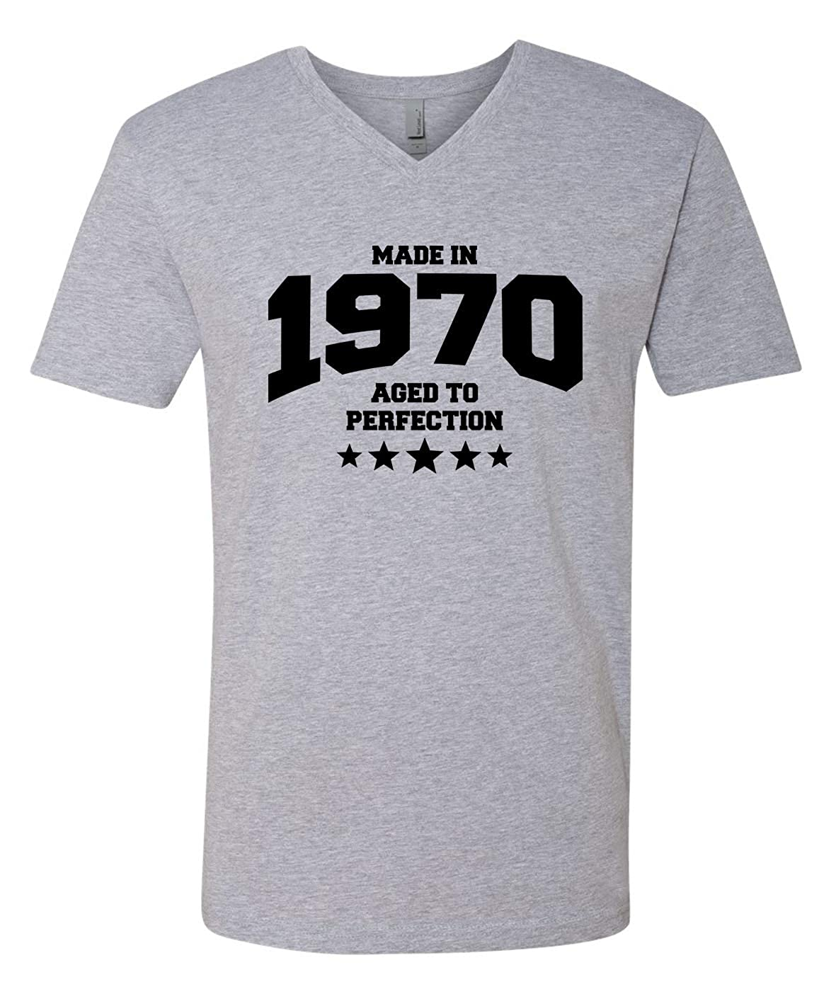 Tenacitee Mens Athletic Aged to Perfection 1970 T-Shirt