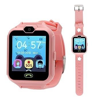 Hangang SmartWatch Reloj Kids Teléfono Smart Game Relojes para Niños, Kid SmartWatch Juegos Touch Screen Cool Toys Mirando I Regalos para Chicas ...