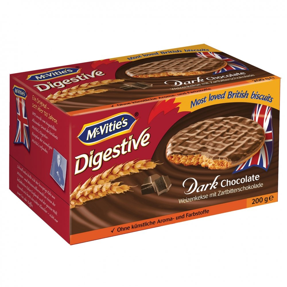 Digestive Dark Chocolate Original McvitieS 300G.: Amazon.es: Alimentación y bebidas