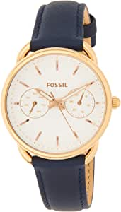 Fossil Womens Quartz Watch, Analog Display and Leather Strap ES4260