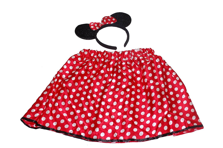 ONE4ALL Achetez® Filles Minnie Mouse Ensemble avec jupe et bandeau ...