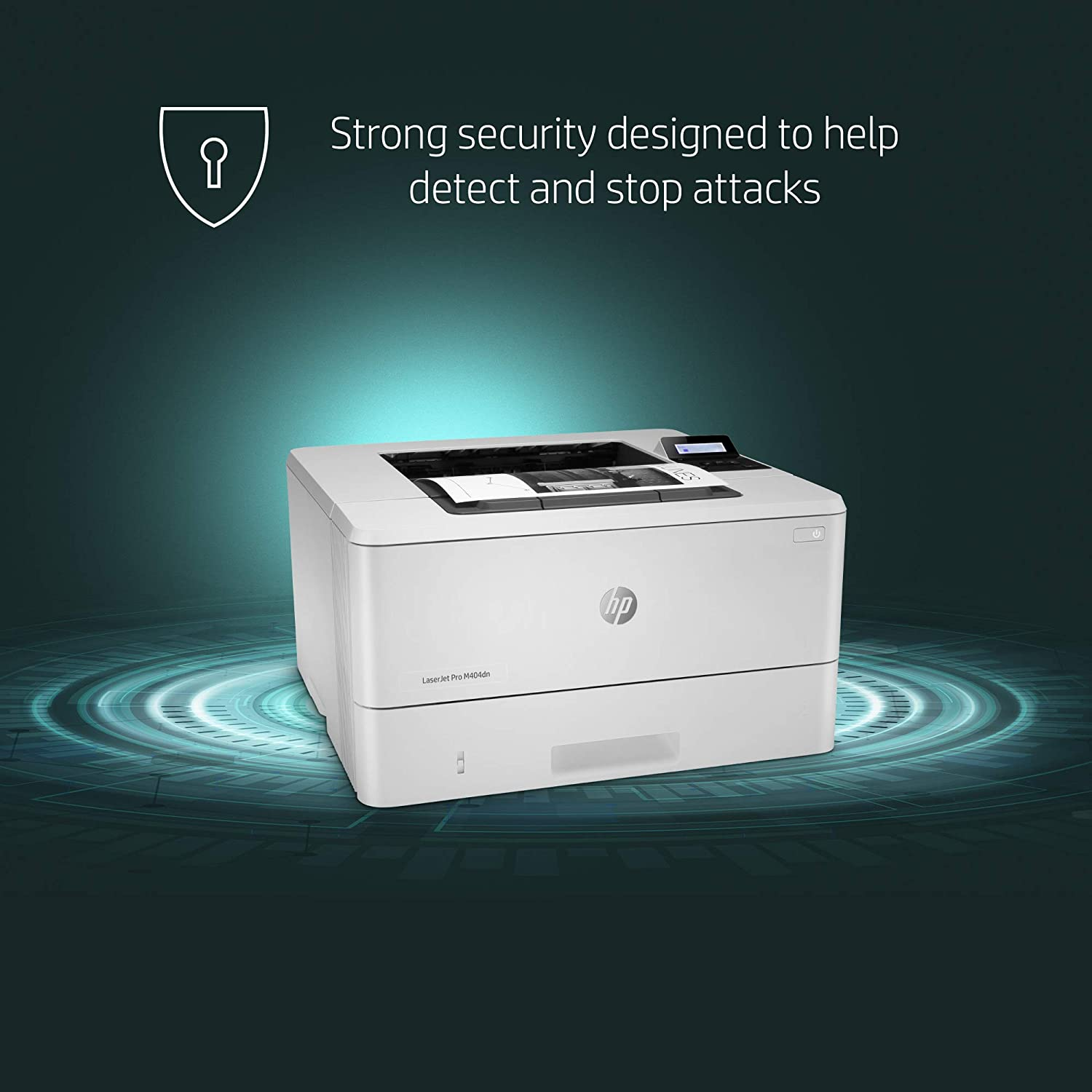 HP LaserJet Pro M404dn Monochrome Laser Printer with Built-In Ethernet & Double-Sided Printing, Works with Alexa (W1A53A): Electronics