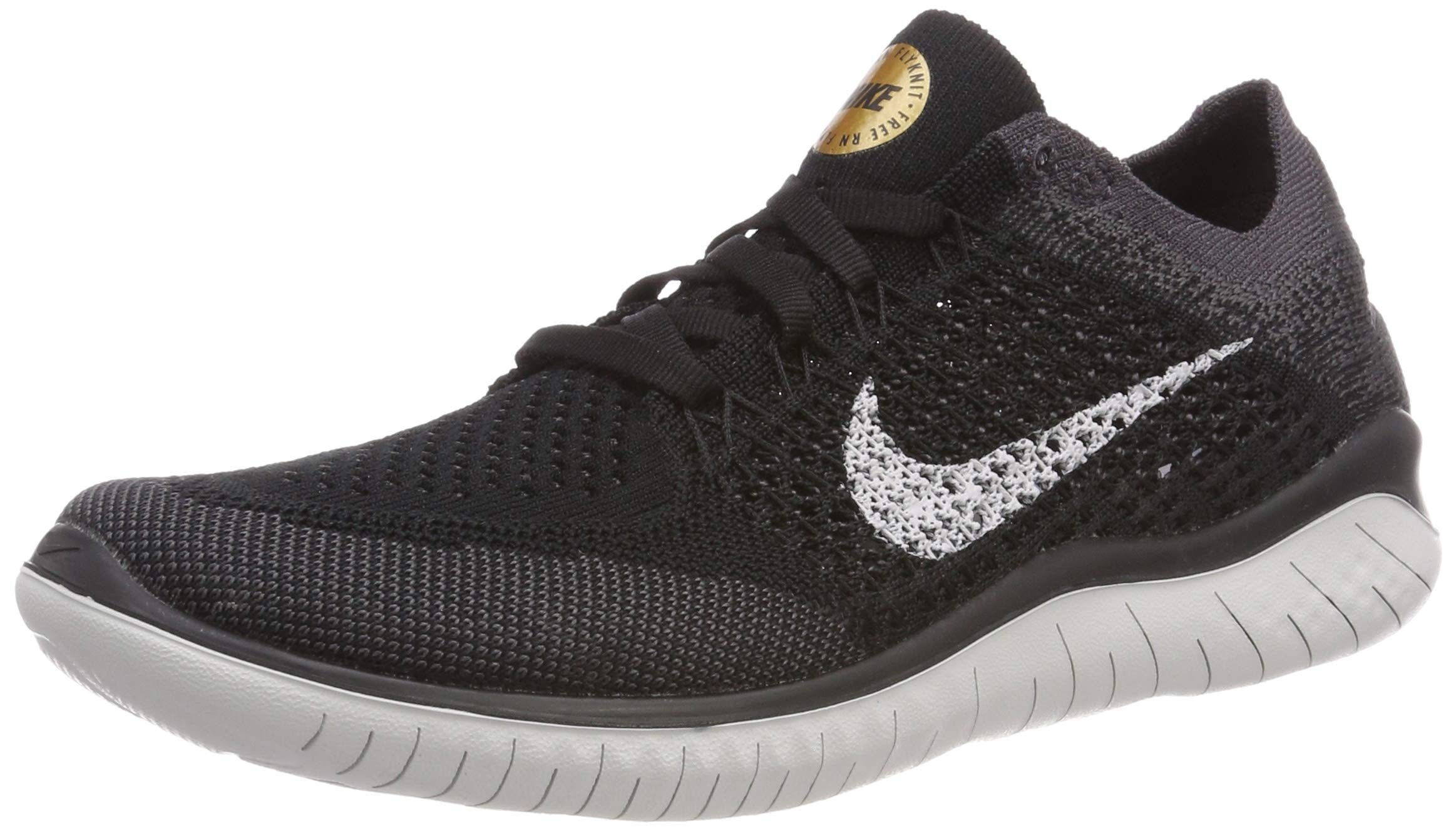 Nike Womens Free RN Flyknit 2018 Running Shoes (8.5) by Nike