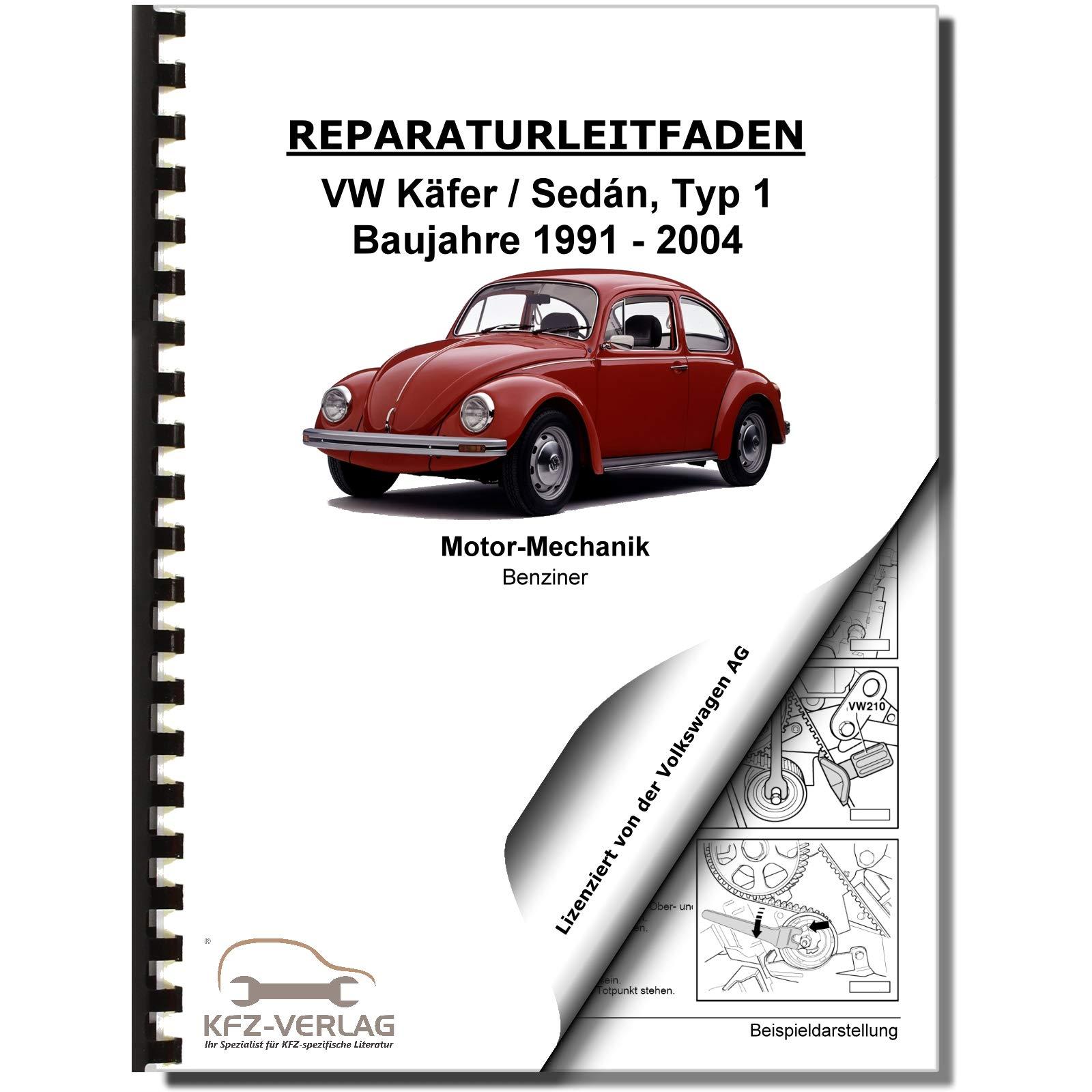 Vw Käfer Sedan 93 03 4 Zyl 1 6l Benzinmotor 46 50 Ps Reparaturanleitung Volkswagen Ag Bücher