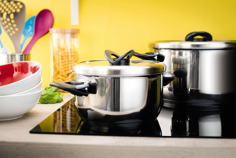 Fornello a induzione pentole adatte awesome we houseware batteria di pentole chef in rame super - Pentole per induzione ikea ...
