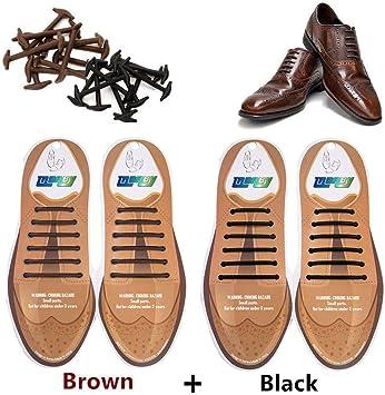 Amazon.com: Tababy - Cordones de silicona para zapatos de ...