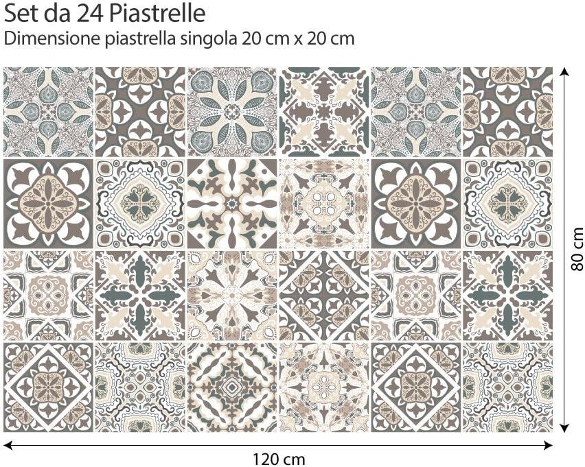 24 (Piezas) Adhesivo para Azulejos 20x20 cm - PS00025 - Horta ...