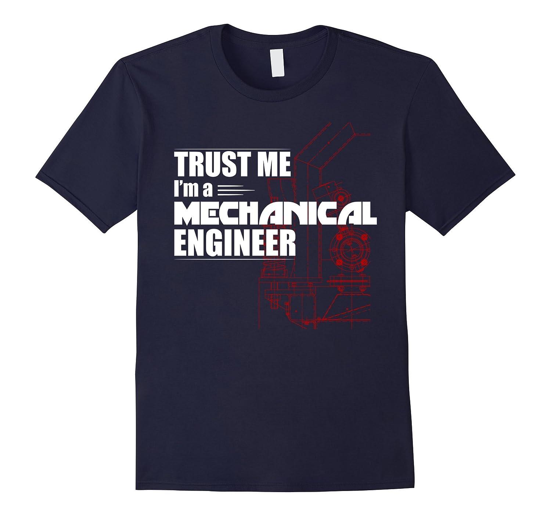 Mens Trust Me Mechanical Engineering T-Shirt-Vaci