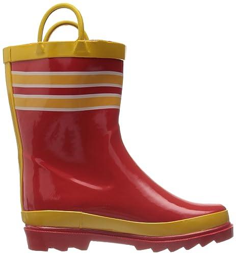 Amazon.com | Little Boy&39s Fire Chief Rain Boots Sizes Infant