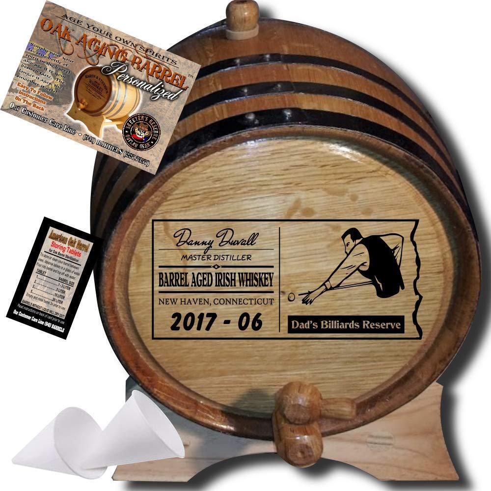 Personalized AmericanオークAging Barrel
