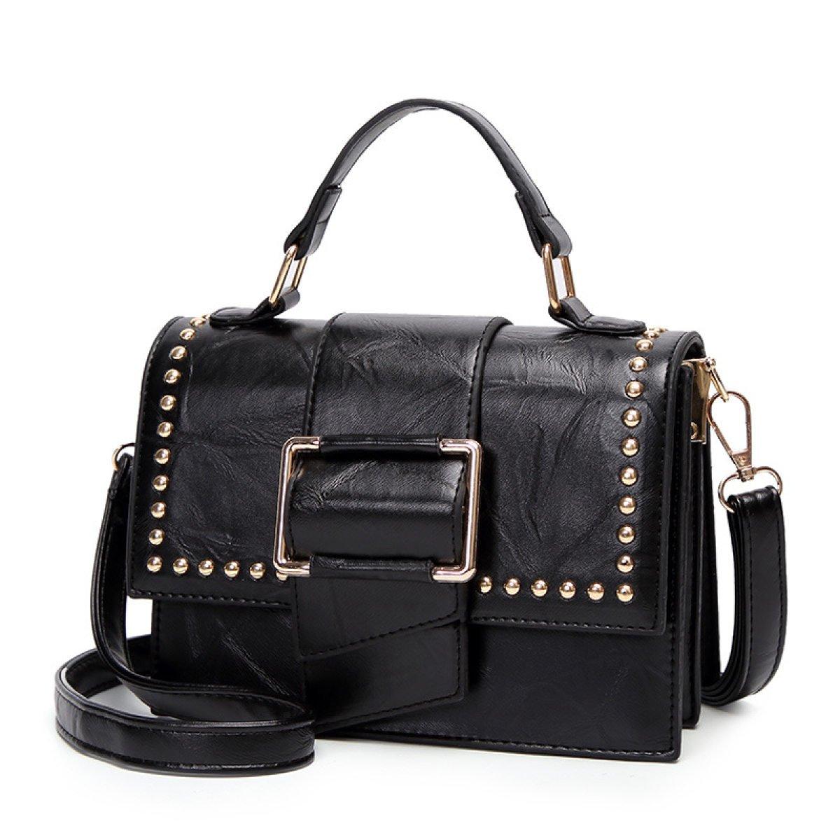 Retro Frauen Schulter Messenger Bag Lady Leder Leder Leder Handtaschen Portable Office Bag Totes B07BS2PTL6 Henkeltaschen Viele Stile 3648d0