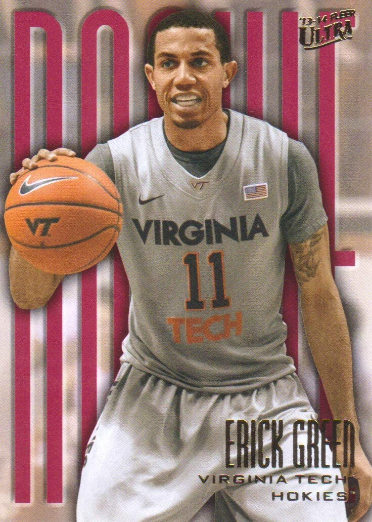 VINTAGE NCAA VIRGINIA TECH HOKIES BUMPER STICKER VERY COLORFUL