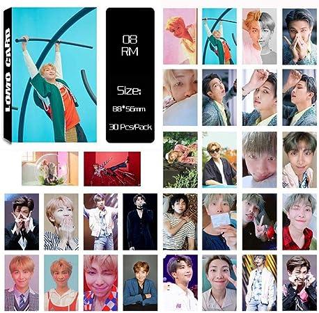 RUNGAO KPOP 30 Piezas BTS Answer Album Lomo Tarjeta Bangtan Niños ...