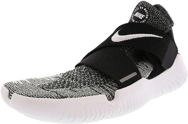 Nike Free RN Motion FK 2018, Zapatillas de Running para Hombre, Negro (Black/White 001), 47 EU: Amazon.es: Zapatos y complementos