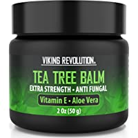 Tea Tree Oil Antifungal Cream- Super Balm Athletes Foot Cream- Perfect Treatment for Eczema, Jock Itch, Ringworm, and…