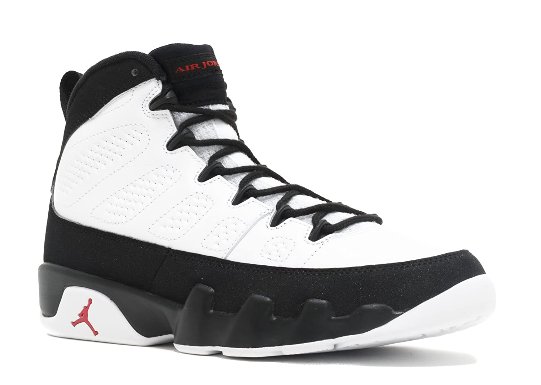 half off 46b8a 9b47f Amazon.com | Nike Mens Air Jordan 9 Retro Playoff White/True ...