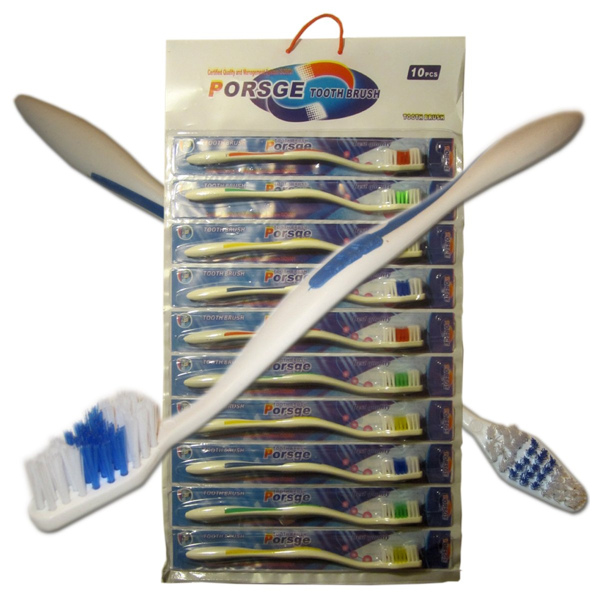 500 Toothbrushes Wholesale Lot Standard Classic Medium Soft Toothbrush