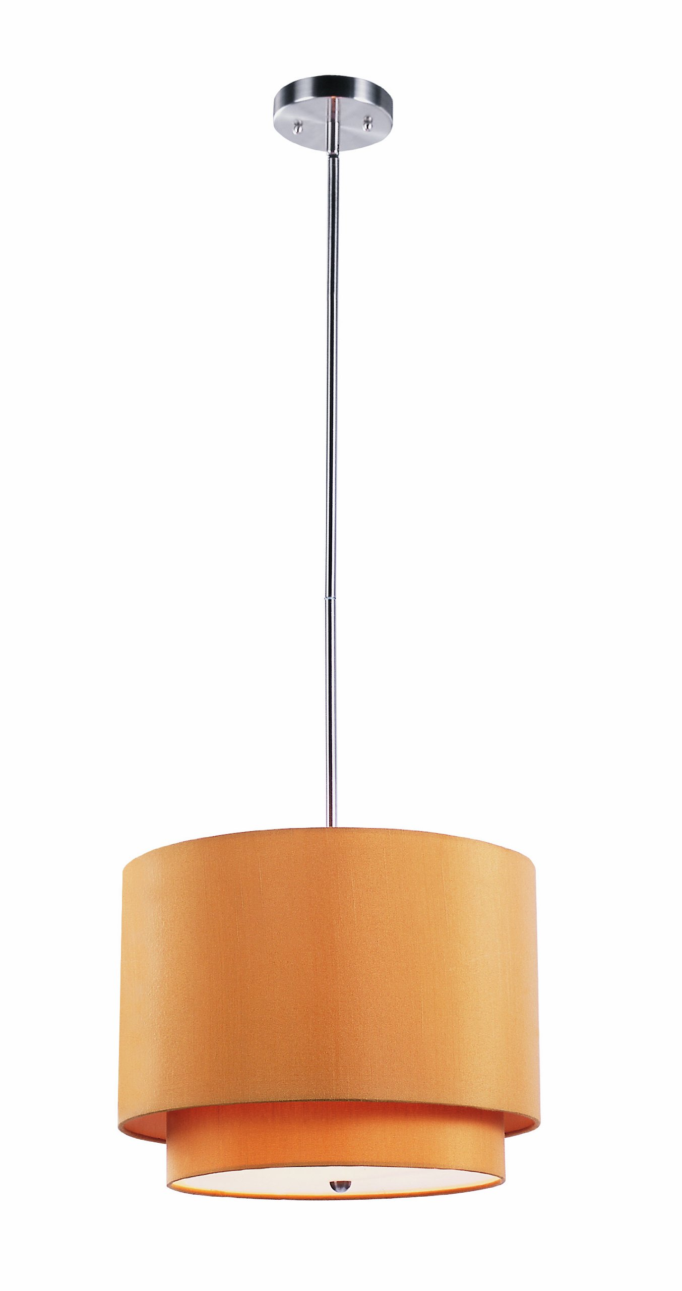 Trans Globe Lighting PND-801 MST Indoor Schiffer 15'' Pendant, Brushed Nickel