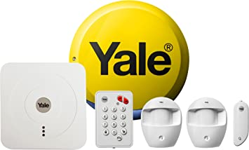 Yale Sr 320 Smart Living Home Alarm Kit White Diy Friendly Part Arming Function App Control Amazon Co Uk Diy Tools