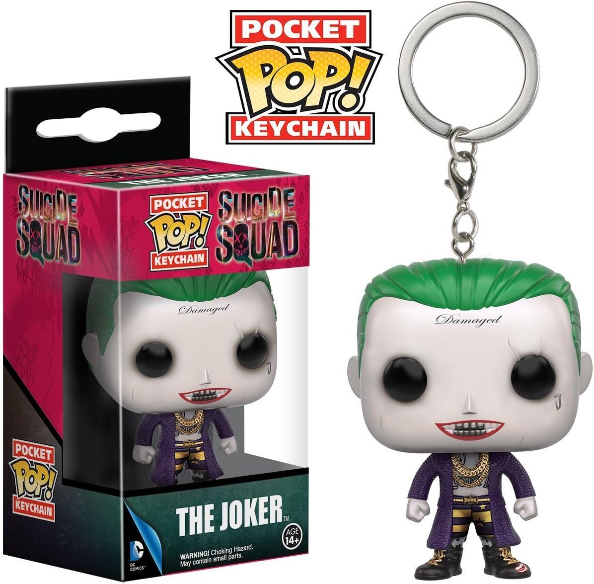 Funko pocket pop action figure keychain portachiavi Suicide Squad The Joker