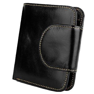 Amazon.com: YALUXE - Cartera de bolsillo para mujer (tamaño ...