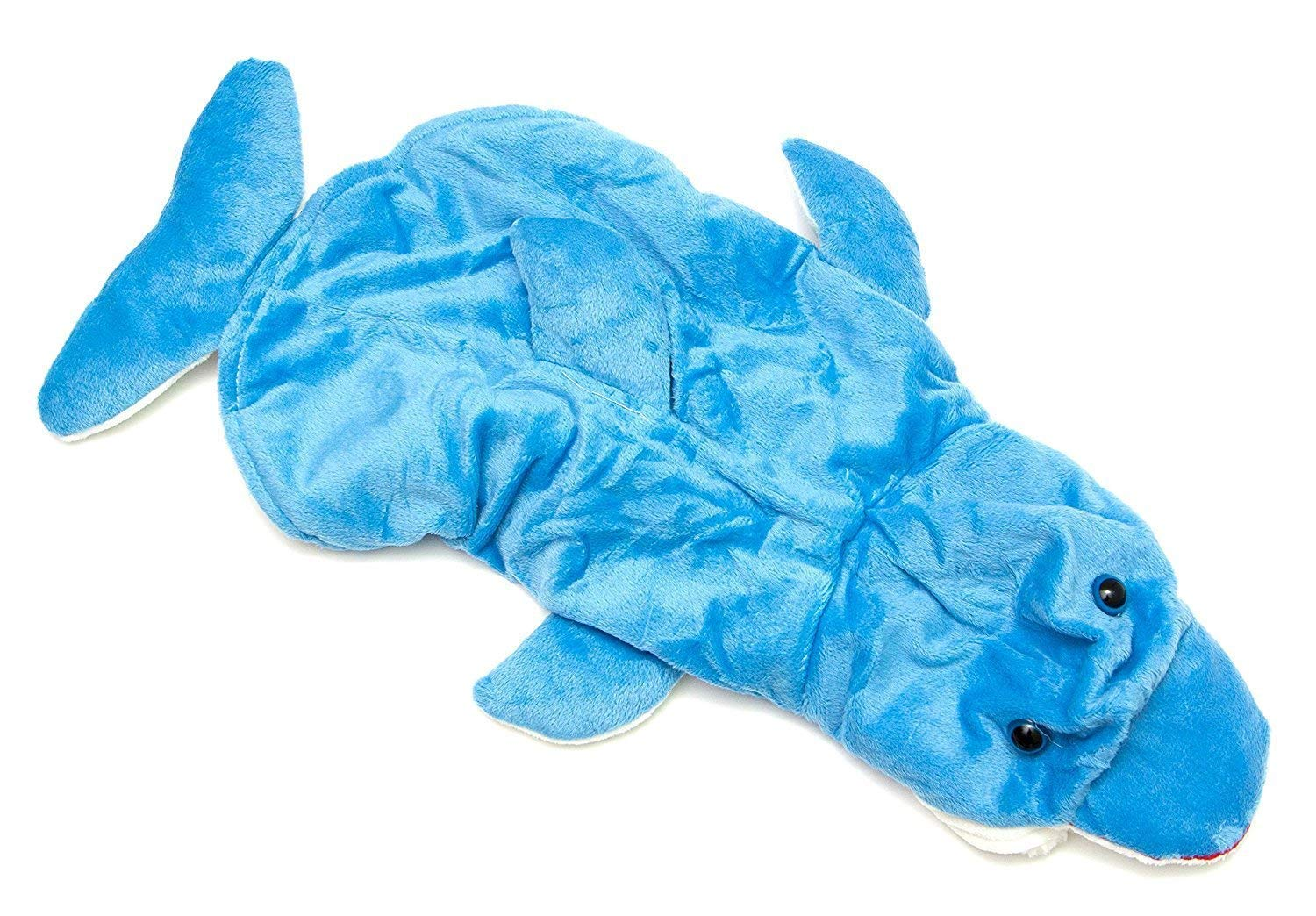Midlee Blue Dolphin Small Dog Costume fits 14'' Back Length by Midlee
