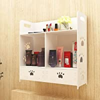Bathroom Cosmetic Storage Box Finishing Boxes Wall-Mounted Desktop Dresser Skin Care Products Shelves Punch-Free Drawer Type