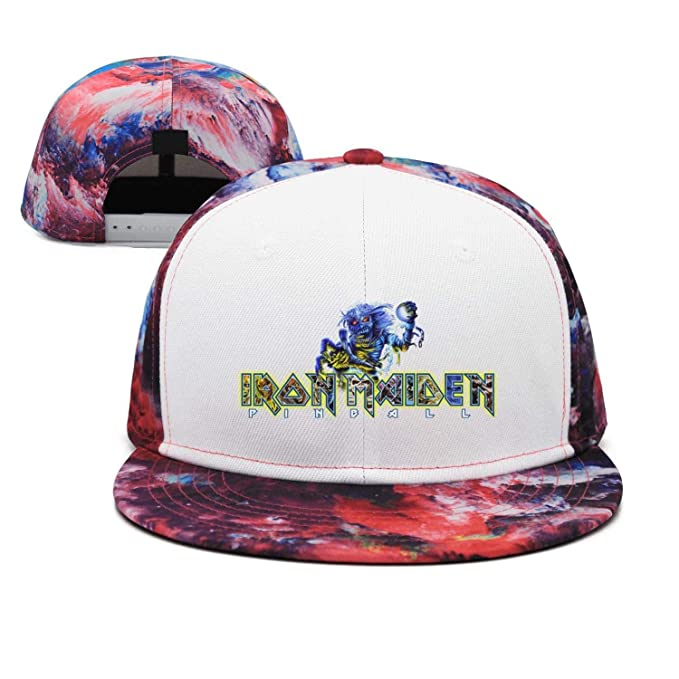 Man Iron-Maiden-Heavy-Metal-Band-Art- Snapback hat Trucker Hats ... 1c72ca381f8
