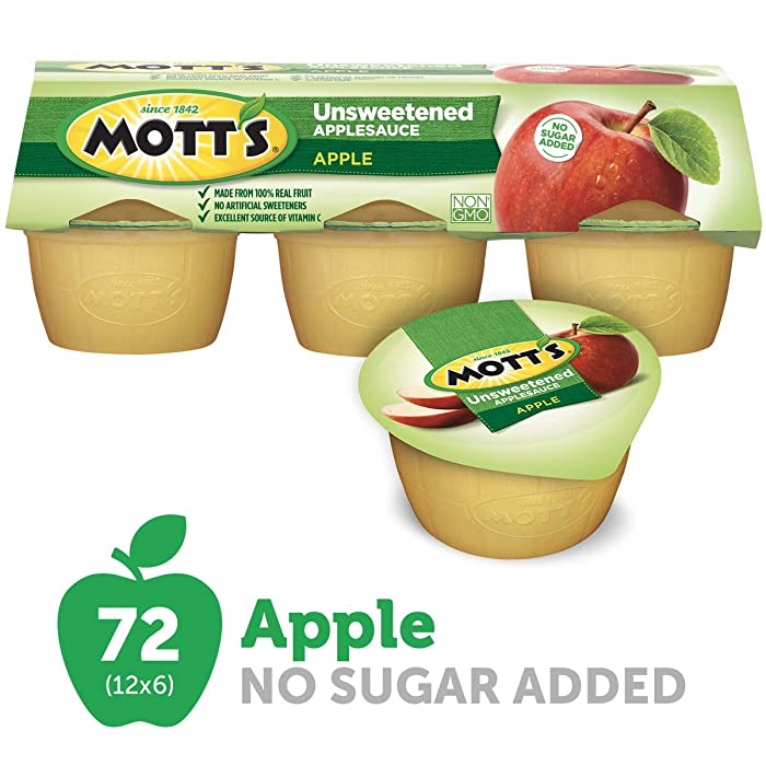 Updated 2021 – Top 10 Apple Sauce Pouch No Sugar Added
